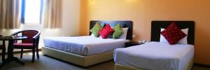 Actual hotel room